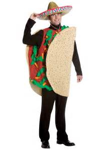 Food Costumes Loaded Taco Costume Food Costumes