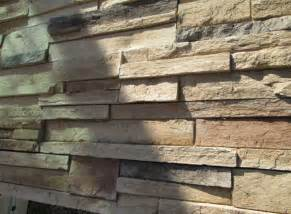 stacked stone wall tile to transform wall into a natural