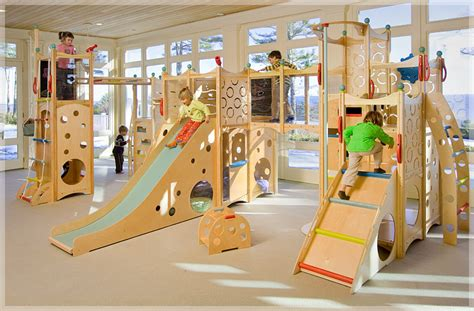 indoor outdoor playgrounds by cedarworks