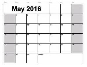 2015 calendar blank template may 2016 calendar printable template 8 templates