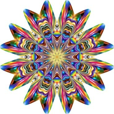 vector kaleidoscope tutorial scroll pattern for illustrator free vector download