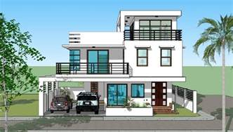 Home Design Builder by House Plan Designs 3 Storey W Roofdeck Bedroom Designs