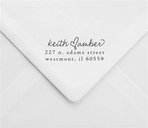 rubber st return address wedding return address st great for invitations and