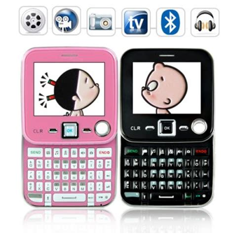 Black Pink 2 Phone wholesale metro cell phone pack black and pink phone 2 pack from china