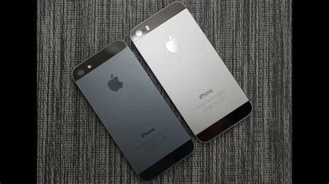 space gray color iphone 5s space gray vs iphone 5 black slate color