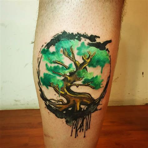 turkey tattoos yggdrasil by yeliz 214 zcan galata istanbul