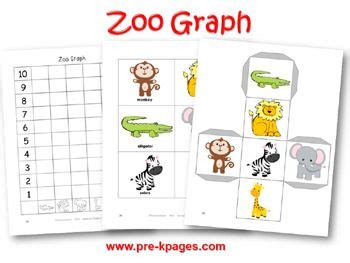 printable graphs for pre k preschool zoo theme zoos and preschool on pinterest