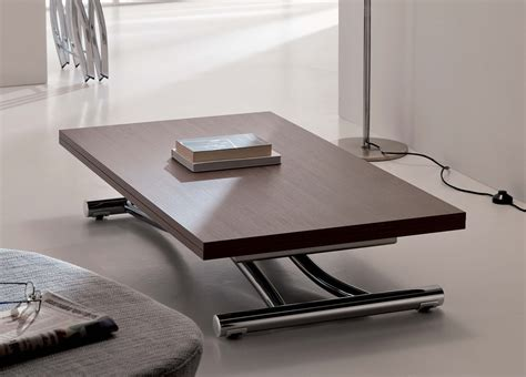 transformable coffee table ozzio mondial transformable table in wood ozzio