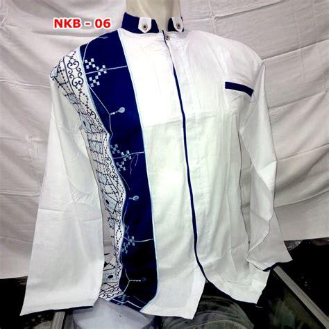 Baju Pria Muslim Modern Warna Merah Bahan Denim Premium Model baju muslim pria lengan panjang model 2016 busanamuslimpria