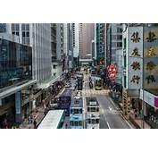 Des Voeux Road Central At Hong Kong On Saturday Credit Lam