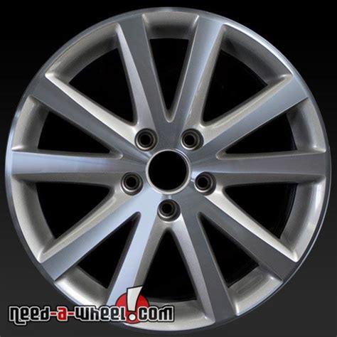 Volkswagen Wheels Oem by 17 Quot Volkswagen Vw Passat Wheels Oem 2006 2010 Machined