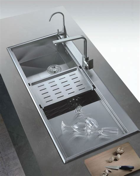 large kitchen sinks stainless steel deep bowl sink