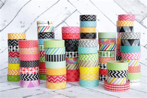 Design Rooms Online i nastri adesivi colorati washi tape idee top per decorare