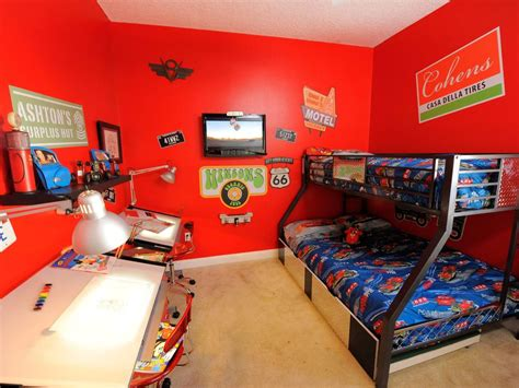Disney Cars Bedroom Ideas A Disney Magic Makes Three Wondrous Rooms Hgtv
