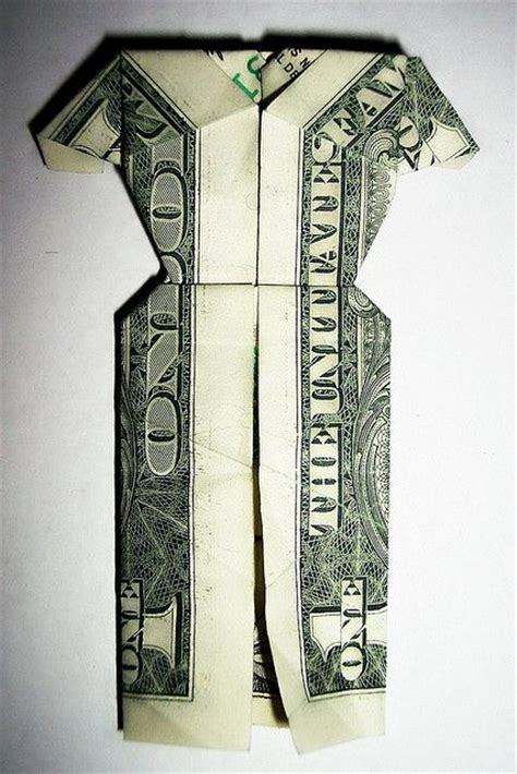 origami dress dollar bill dollar bill dress by cedison via flickr origami