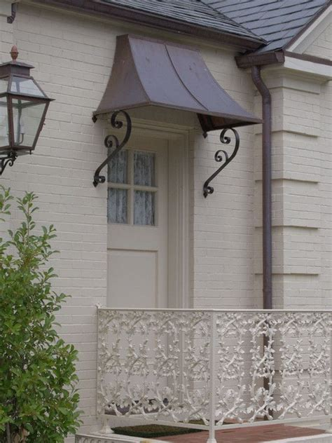 copper awning over door excellent patio door canopy interesting traditional porch