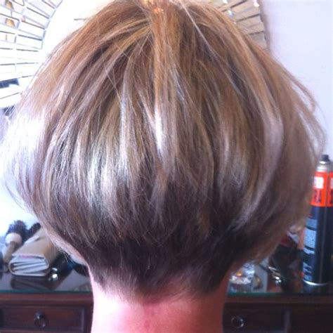 back stacked wedge hair cut tapered back hair cuts for women short hairstyle 2013