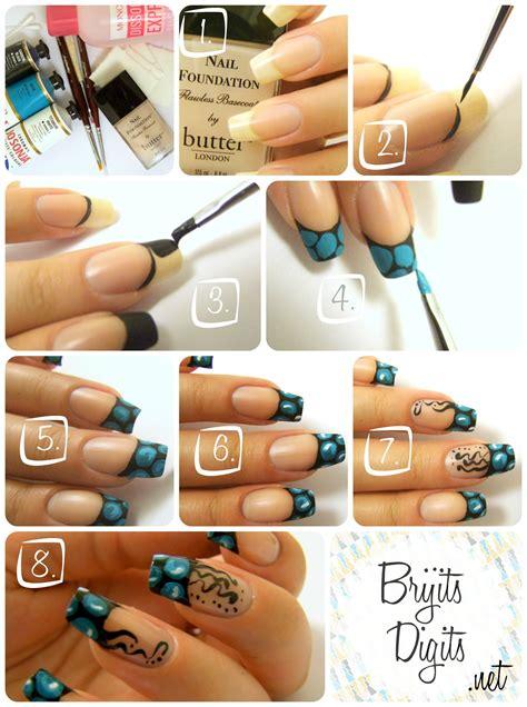 nail art tutorial with acrylic paint meet brijit from brijits digits polish alcoholic
