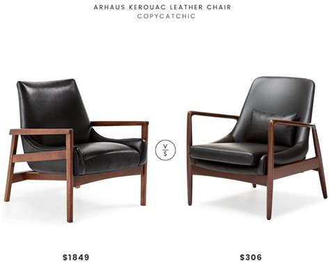 copycat chic desk chair daily find arhaus kerouac leather chair copycatchic