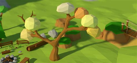 tutorial blender low poly how to model a low poly tree with blender blendernation