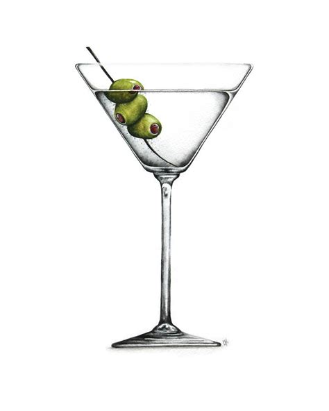 martini drawing the gallery for gt martini glass clip art