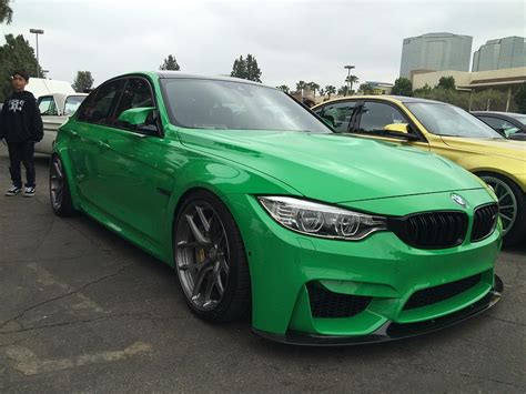 bmw individual colors 2015 bmw m3 individual color green 2 photograph by mag