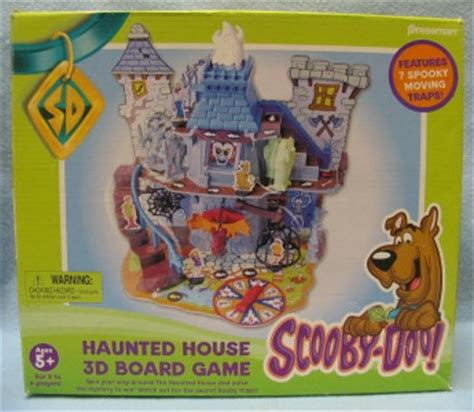 Haunted House Board by Scooby Doo Haunted House 3d Board Solve The Mystery