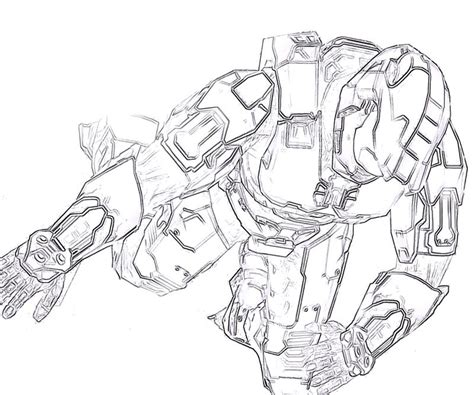 free master chief coloring pages