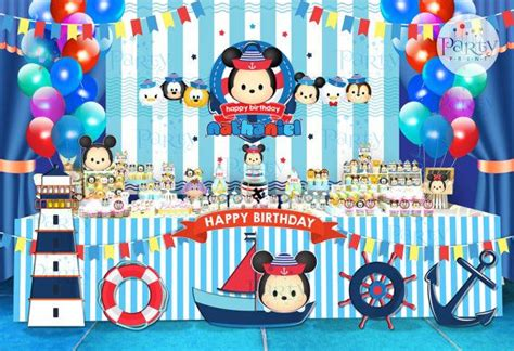 Tsum Tsum Navy 25 best ideas about nautical backdrop on