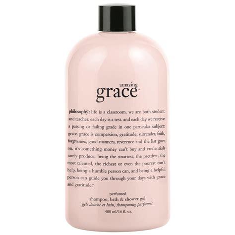 amazing grace shoo bath shower gel philosophy gift ideas