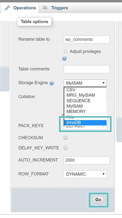 Change Table Mysql Change Table From Myisam To Innodb Mysql Storage Engine How To Convert Myisam To Innodb Mysql