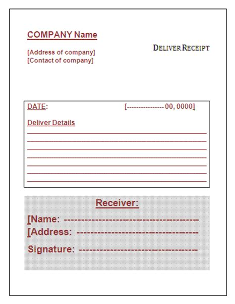 shipping ticket template customer receipt template helloalive