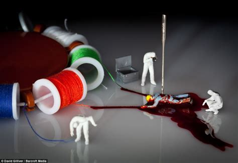 Cc Beckham Series 5852 Set 2 In One artist david gilliver creates imaginary using tiny models and every day items daily