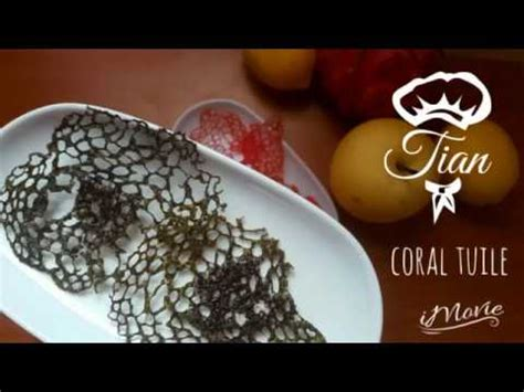 Simple Tuile Recipe by Coral Tuile Lace Tuile Easy Recipe