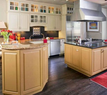 glossy cafe au lait upper cabinets in small space kitchen before and after kitchens midwest living