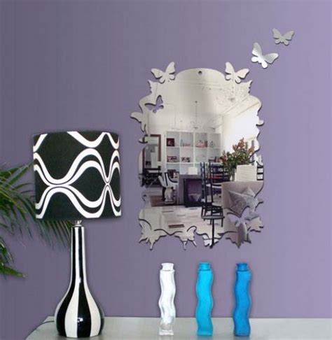 butterfly mirror wall stickers mirror wall stickers bright ideas for room decorating