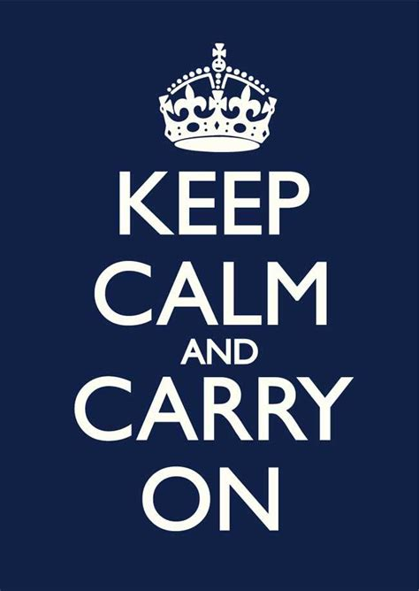 imagenes de keep calm and never give up keep calm and carry on navy blue old white poster