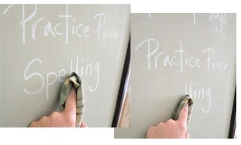 chalkboard paint not sticking make your own colored chalkboard paint centsational