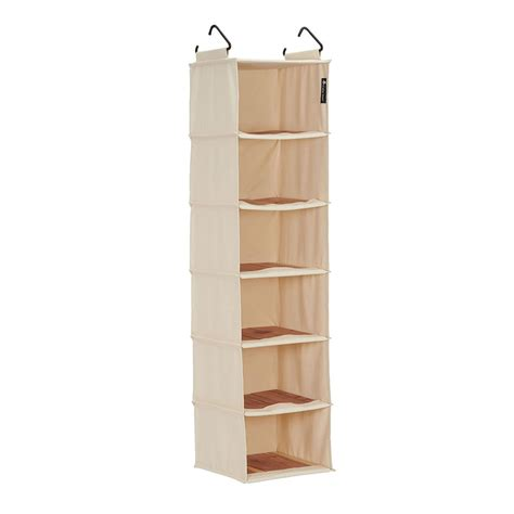 hanging shelf organizer cedarstow in hanging closet shelves