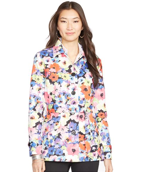 Floral Print Coat From Boden by Lyst By Ralph Floral Print Trench Coat