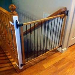 baby banister gate adapter ez fit 36 quot baby gate walk thru adapter kit