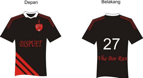 desain baju bola depan belakang desain baju welcome in my blog