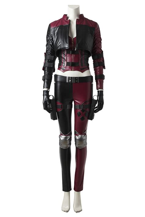 Handmade Harley Quinn Costume - custom made harley quinn costume injustice 2