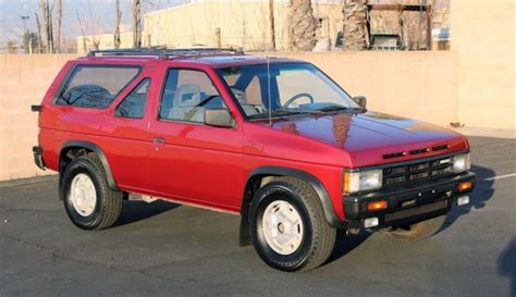 old car manuals online 1998 nissan pathfinder electronic toll collection 30 year old gem 1988 nissan pathfinder 4x4