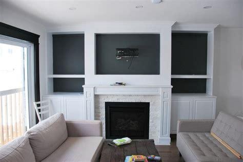 living room  fireplace built  closet diy fireplaces