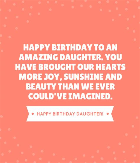 Beautiful Quotes For Daughters Birthday 35 Beautiful Ways To Say Happy Birthday Daughter Unique