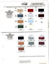 Porsche Paint Colors Porsche Paint Colors Chart Ebay