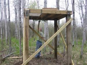 deer shooting house plans elevated deer blinds yahoo image search results