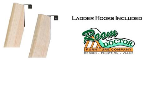 Wooden Bunk Bed Ladder by Basic Wood Bunk Or Loft Bed Ladders