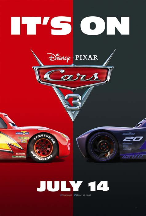 Poster Auto by Cars 3 2017 Poster 10 Trailer Addict